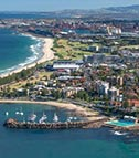 Wollongong coast
